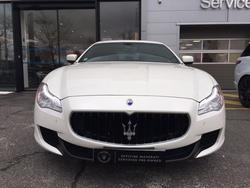 Maserati Quattroporte Blanche