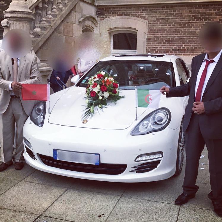 Nouvelle option pour les Futurs Mariés : drapeaux type diplomatique en exclusivité chez Road Drive