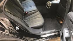 Mercedes Classe S noire modèle 2018