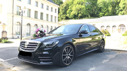 Mercedes Classe S 350 noire Pack AMG 2019