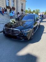 Mercedes Classe S 350 noire pack AMG 2021